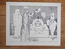 Janusz Przybylski  (1937 - 1998) Dist 2  Goya