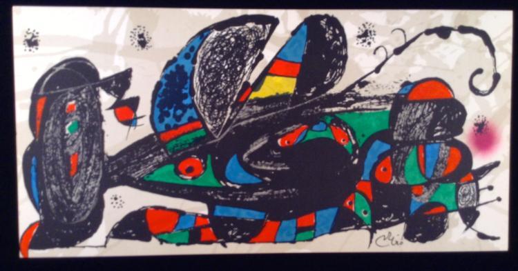 Joan Miro. Escultor Iran