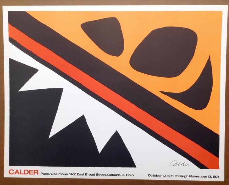Alexander Calder. For Pace Columbus 1971