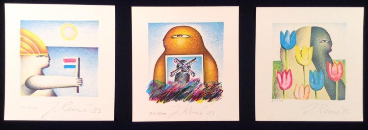 Jorg Reme, 3 Artprints