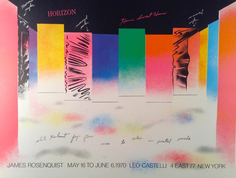 James Rosenquist. Horizon (1970) For gallery Leo Castelli