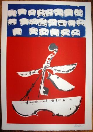 Fernandez Arman(1928-2005) Sans Titre