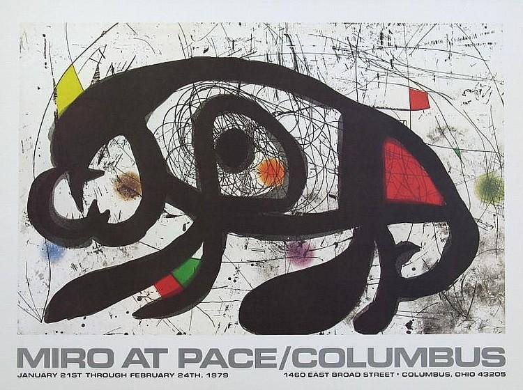 Joan Miro at Pace Columbus (1979)