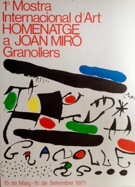 Joan Miro. For Mostra Internacional d'Art 1971