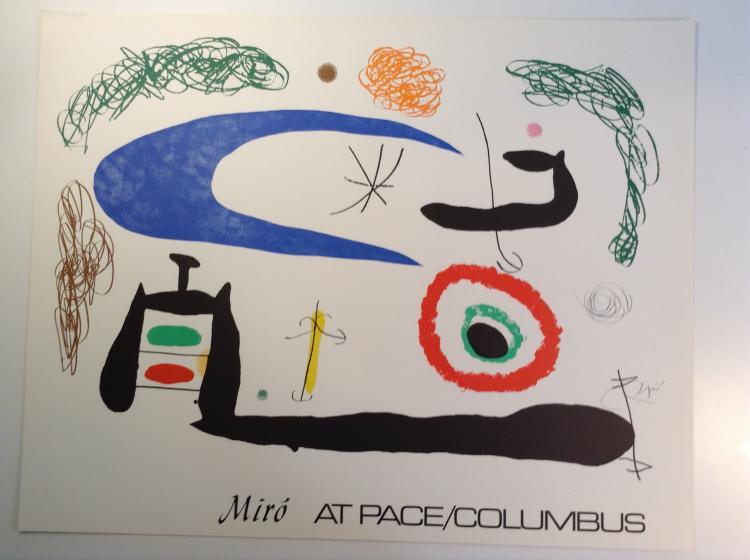 Joan Miro at Pace Columbus