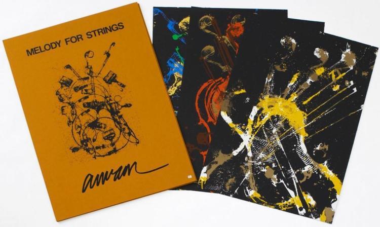 Fernandez Arman.(1928-2005) Melody for strings 1990
