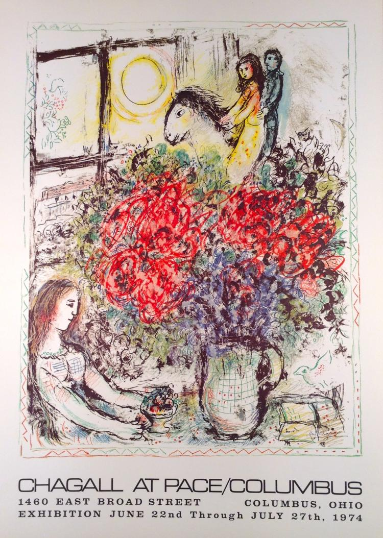 Marc Chagall for Columbus.