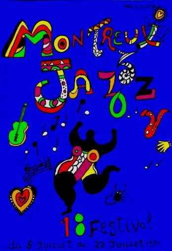 Niki de Saint Phalle. Montreux Jazz