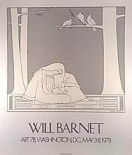 Will Barnet for Art '78 Washington.