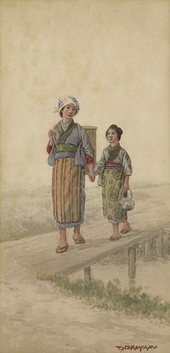 NAKAYAMA TAKASHI (1893-1978)TWO VIE