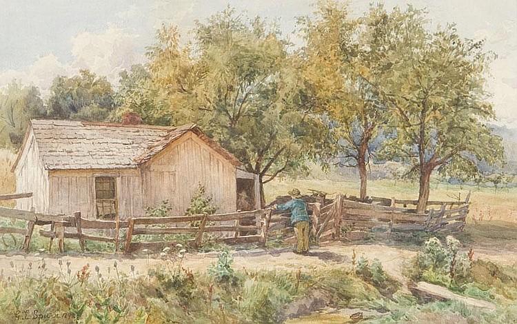 GERTRUDE SPURR CUTTS ARCA OSA (1858-1941)