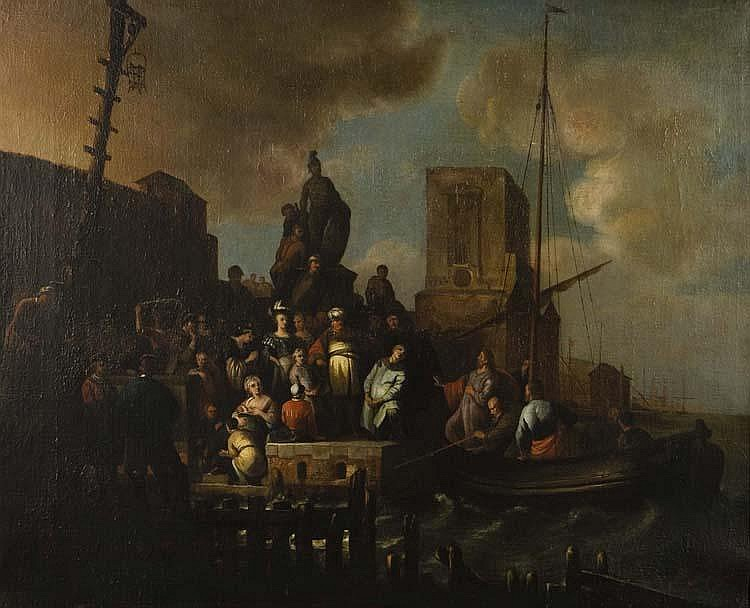 ATTRIBUTED TO WILLEM DE POORTER (1608-DIED CI