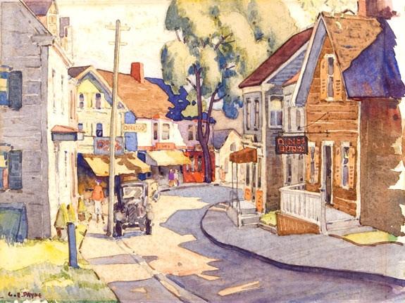 gordon eastcott payne osa, aoca (1891-1983)