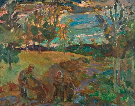 FREDERICK HORSMAN VARLEY (1881-1969)