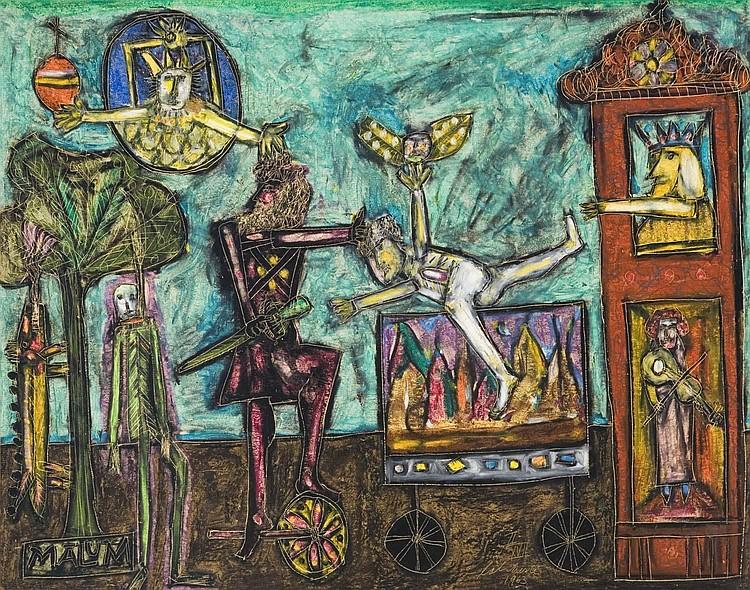 NORMAN LALIBERTE (1925- )
