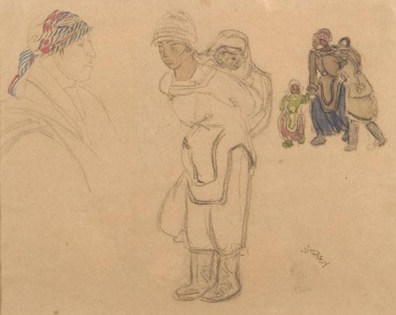 FREDERICK HORSMAN VARLEY ARCA, OSA (1881 - 1964)