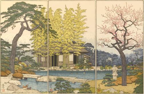 Apple Tree Auction >> Toshi Yoshida Artwork for Sale at Online Auction | Toshi Yoshida Biography & Info