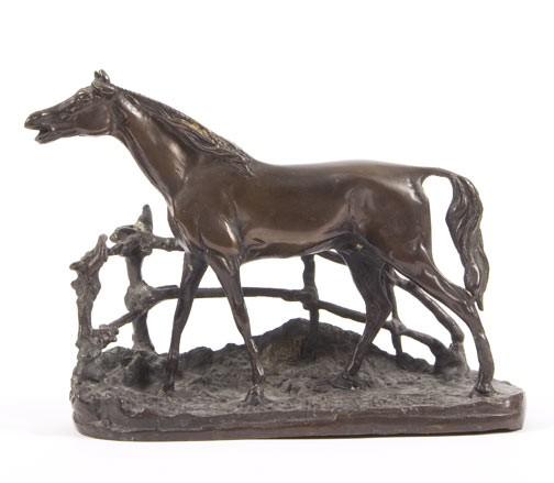 AFTER P. J. MENE, BRONZE HORSE,