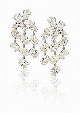 Diamond Girandole Earrings