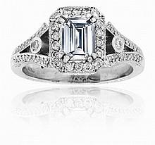 Michael Beaudry Diamond Ring