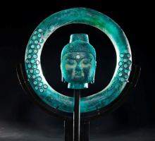 Aqua Ring Buddha Freestanding