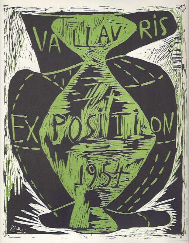 Exposition Vallauris 1954