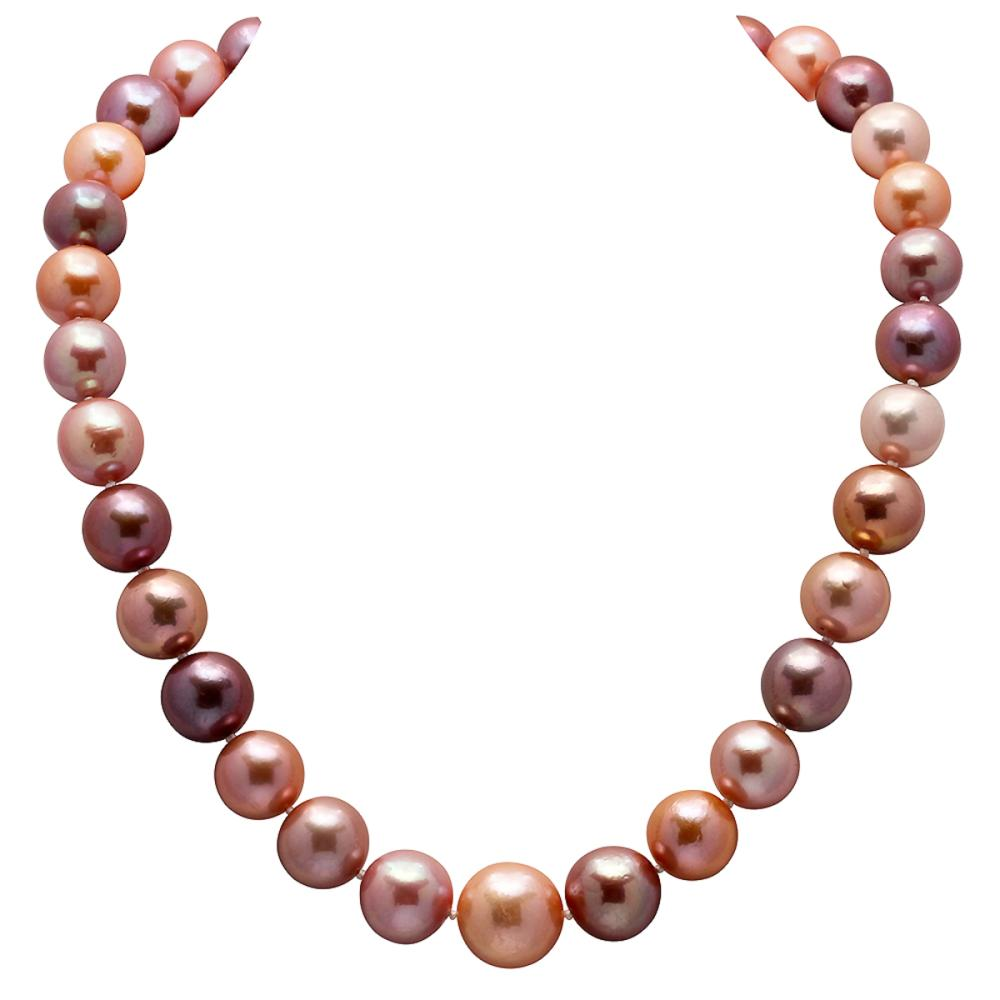 12-15mm Natural South Sea Pearl Necklace