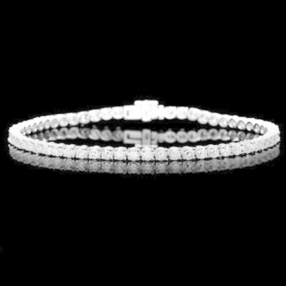 18K Gold 4.96ct Diamond Bracelet