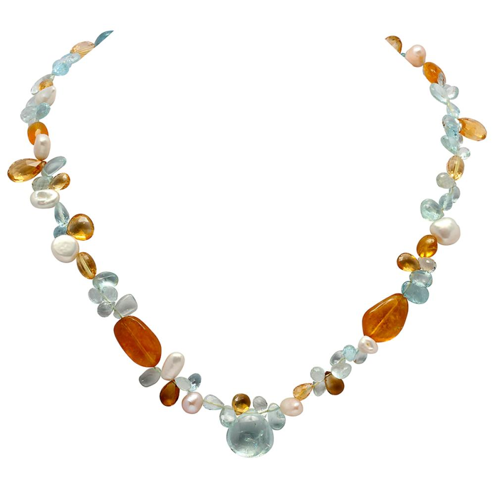 186.00ct Multi-Stone One Strand Necklace