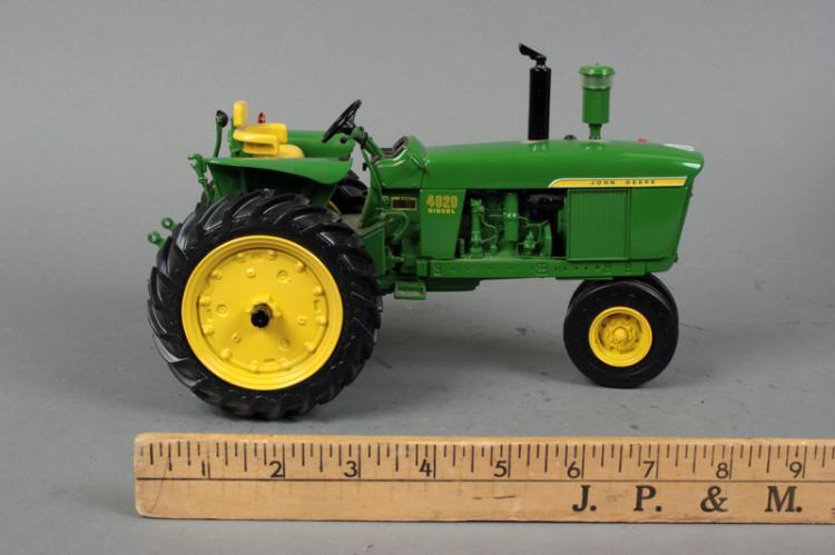 tractor john deere 4020 diesel tractor with ob 1 16 scale ertl