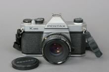 Pentax K-1000 Camera 35mm SLR w/ 50mm F/2 Lens N/A. | Body Serial #: 6790153 | Lens Serial #: 6120471 | Condition: Good