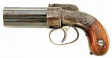RARE Manhattan Firearms Bar Hammer Pepperbox