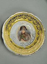 Two Victoria Austria Plates of Napoleon