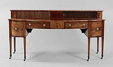 Early 19th c Hepplewhite Mahogany Sideboard.