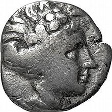 Ancient Greek Coin of Euboia,3rd Century BC