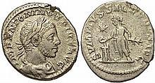 Ancient Roman Elagabalus Coin