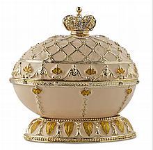 Renaissance Faberge Inspired Egg