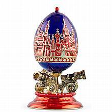Kremlin Cannons Faberge Inspired Egg