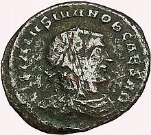 Ancient Roman Bronze Coin, Licinius I, 308-324 AD