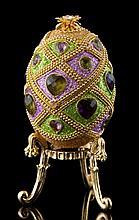 Faberge Inspired Jeweled Egg