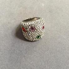 Swarovski Crystal Flower Ring