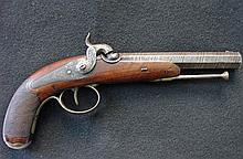 Liege single shot .50 cal percussion pistol