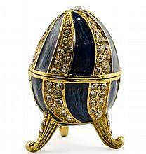 Ligne Bleue Faberge Inspired Egg