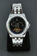 Men's Stainless Steel Wristwatch
