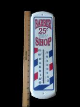 Barber Shop Reproduction Thermometer