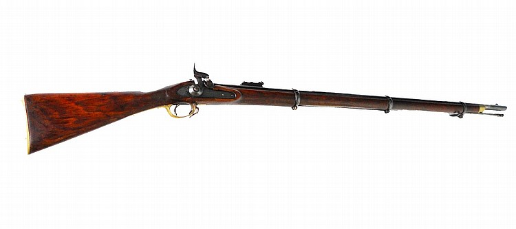 .577 percussion service rifle signed Tower Model