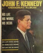 1964 John F. Kennedy Memorial Album: Photos - Berlin Wall, Cuba, Funeral, More