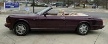 Fabulous Bentley Convertible, Minty, Rare Custom Wine Paint, Loaded, 1997 Azure