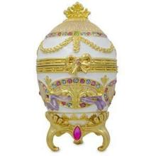 Faberge-inspired 1903 Bonbonniere Faberge Egg
