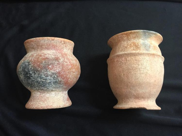Pair of Early Meso-American Vessels